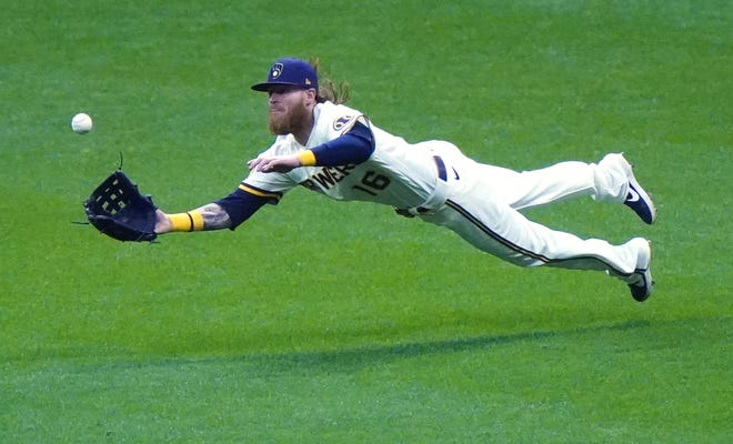 Former Milwaukee Brewers outfielder Ben Gamel signed a minor-league free-agent deal with the Indians on Thursday. [Associated Press]