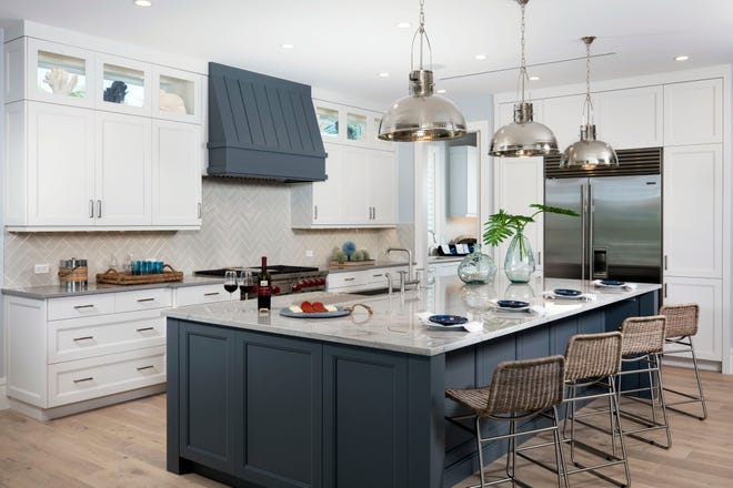 Seagate Development Group's furnished Captiva model at Hill Tide Estates is open for viewing and purchase.