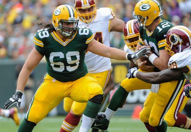 Green Bay Packers left tackle David Bakhtiari has been picked for three Pro Bowls.