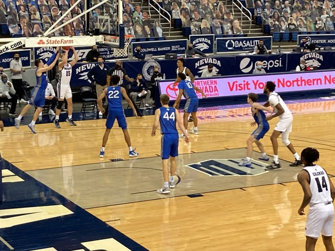 Air Force beat Nevada 68-66 on Sunday at Lawlor Events Center