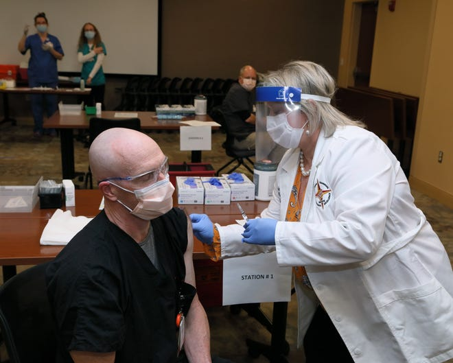 Currently, Augusta Health is near capacity for in-patient care, the statement said, and 85% of COVID-19 patients being treated are unvaccinated.
