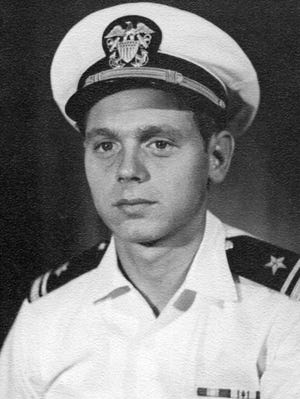 This photo of Lt. j.g. John Kraft was taken in Pearl Harbor in December 1970, about six months after his 25th birthday.
