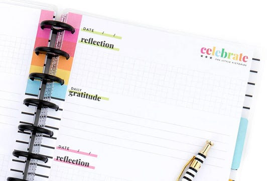A Happy Planner made by Stephanie Fleming