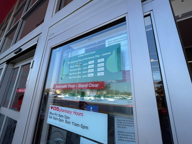 Target will be closed on Christmas Day along with several other big box retailers.