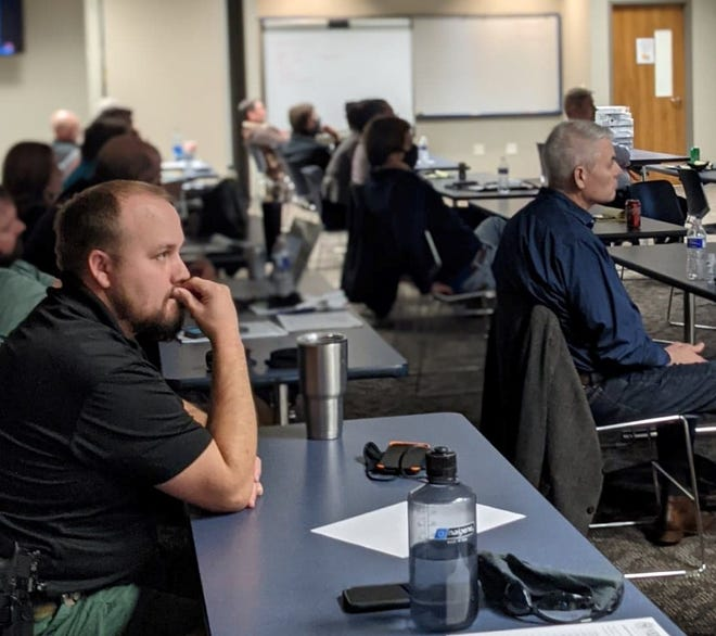 Over 50 area law-enforcement officers and prosecutors from the Wichita County District Attorney's Office took part in virtual training Monday on handling crimes involving choking, suffocation, strangulation and drowning.