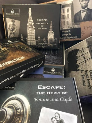 Escape the Crate delivers the problem-solving adrenaline of an escape room right to their home.