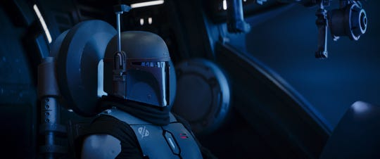 "Temura Morrison as Boba Fett in Season 2 of ""The Mandalorian."" The fan-favorite ""Star Wars"" character will get his own Disney+ series in 2021."