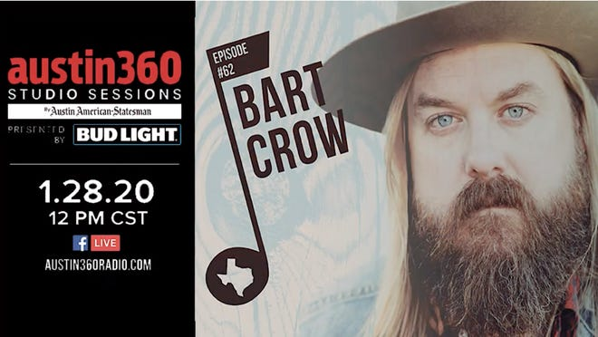 Austin360 Studio Sessions Episode 62: Bart Crow