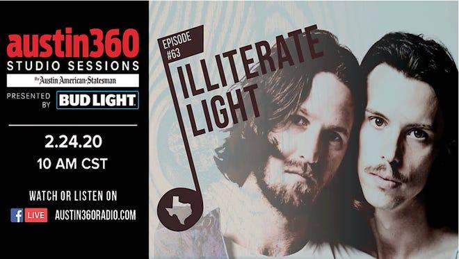 Austin360 Studio Sessions Episode 63: Illiterate Light