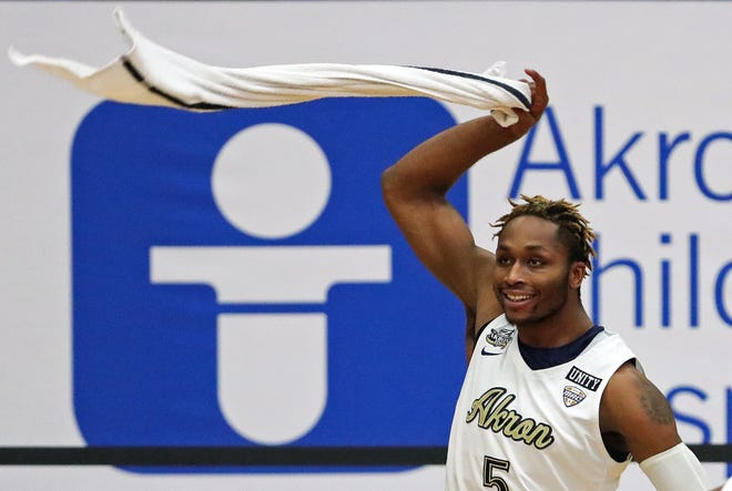 The University of Akron basketball team has had its schedule again adjusted by the COVID-19 pandemic. The Zips will play Central Michigan instead of Buffalo on Jan. 1 at Rhodes Arena [Jeff Lange/Beacon Journal]