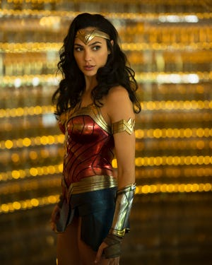 """Gal Gadot starred as Diana Prince/Wonder Woman in """"Wonder Woman 1984"""" which hit area theaters and the streaming service HBO Max on Christmas Day."""