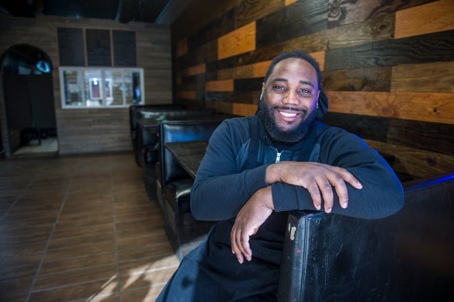 Antoine Williamson is the owner of Broad Street Bullies Grill next to Augusta Common.