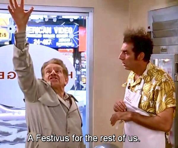 Frank Constanza from Seinfeld (1997).