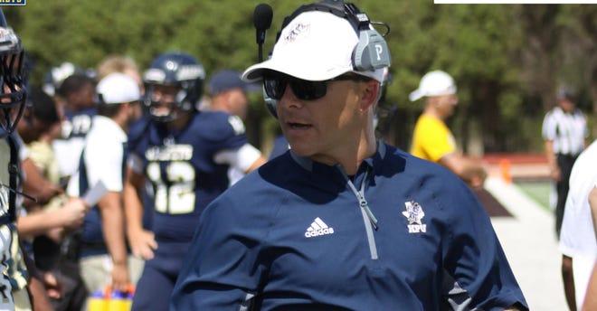 Braxton Harris is leaving his job as Howard Payne University's head football coach.