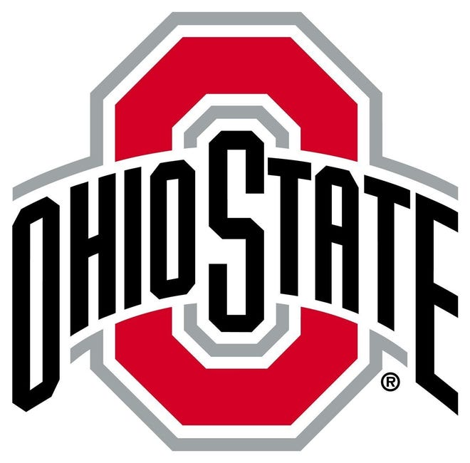 The Ohio State University athletic department logo, 2017. [provided by OSU]