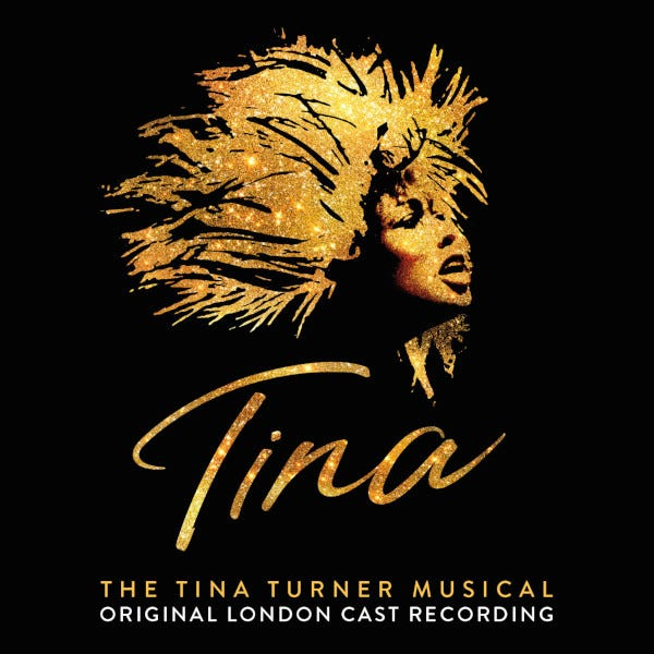 """The Tina Turner Musical"" album cover"
