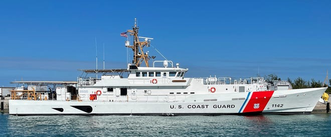 Bollinger Shipyards delivered the cutter Robert Goldman to the U.S. Coast Guard on Monday in Key West, Fla. The ship will soon head to the Middle East.