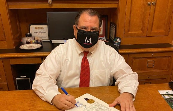 Ohio Sen. Tim Schaffer, R-Lancaster, led efforts to secure $200,000 in funding from Senate Bill 310 for the Health & Wellness Complex at Muskingum University in New Concord.
