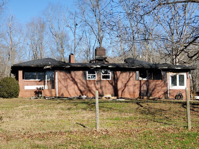 A family safely escaped a fire that destroyed their City Lake Road home Saturday.