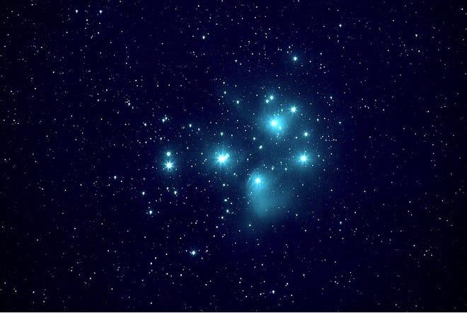 The Pleiades, photographed Jan. 4, 2019 by Juan Iacruz. https://en.wikipedia.org/wiki/Creative_Commons