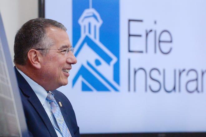Erie Insurance CEO Tim NeCastro.