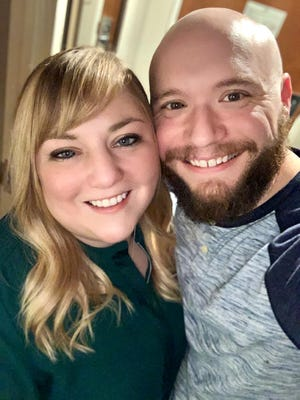 """Molly Martin Wright and James """"Jimmy"""" Wright Jr., D.O., enjoyed an eventful engagement, recovering from COVID-19 and helping to raise more than $70,000 to purchase desperately needed supplies and delivered them to area hospitals."""