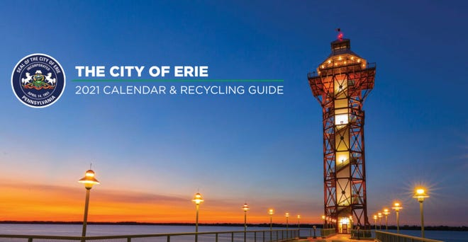 This is an image of the cover of the city of Erie's 2021 wall calendar, which is being sent to city residents through the end of 2020.