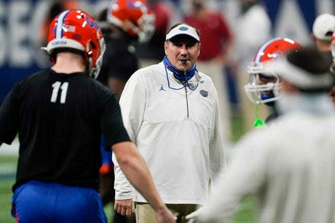 Florida football coach Dan Mullen still has a spot or several to complete the Gators' 2021 signing class.
