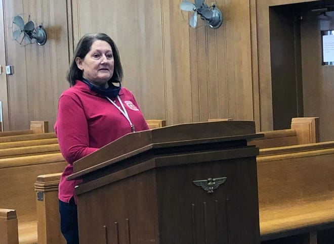 Grayson County Elections Administrator Deana Patterson, shown here in a 2020 file photo, was selected Tuesday to replace Grayson County Clerk Wilma Bush when she retires at the end of January.