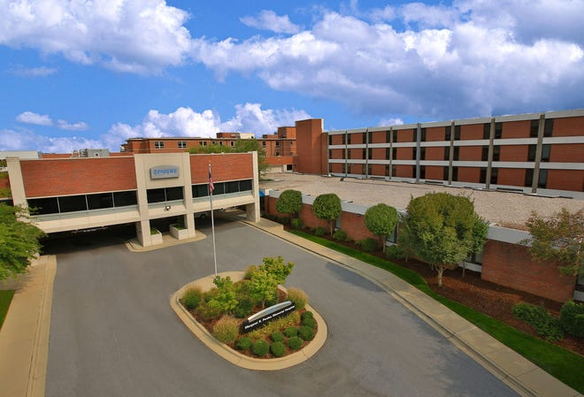 With 44 COVID-19 patients hospitalized at Pardee Hospital, Pardee UNC Health Care Chief Medical Officer Dr. David Ellis pleaded today for folks to continue to wear masks, wash their hands and to social distance.