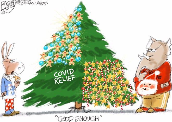 Today's editorial cartoon (Dec. 23, 2020)