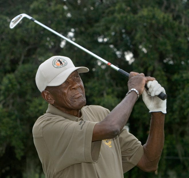 Bartow resident Herb Dixon is a member of the National Black Golf Hall of Fame.