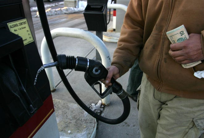 The average price for a gallon of regular unleaded gas in Massachusetts is $2.17, up 5 cents from a week ago, according to AAA Northeast.
