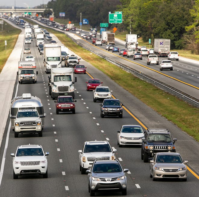 Traffic was heavy on Interstate 75 in December 2019 when 119.3 million Americans, the most on record, traveled during the year-end holiday period.