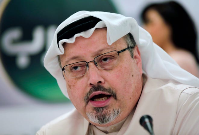 """The Dissident"" is a documentary about murdered journalist Jamal Khashoggi."