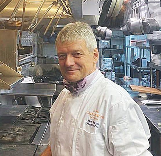 Alain Krauss, executive chef, Cafe L'Europe