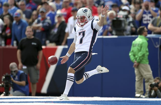 Not only has Jake Bailey punted for distance and direction, but his play as a holder and on kickoffs has also impressed Bill Belichick this season.
