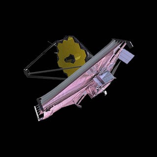 The James Webb Telescope is still scheduled for launch on Oct. 31, 2021.