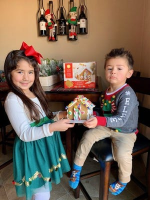 Stillman Bank recently announced the winners of its annual Christmas coloring contest for kids ages up to 10. Pictured: Dani and Jett Davis are among the winners.