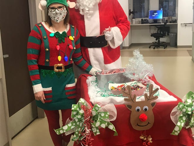 SSM St. Anthony Hospital spent December thanking healthcare workers