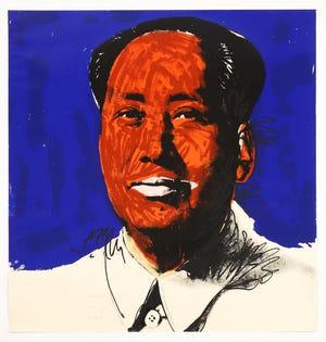 Andy Warhol (Am., 1928-1987), Mao, 1972, Screen-print on Beckett High White Paper, Ed. 25/250.