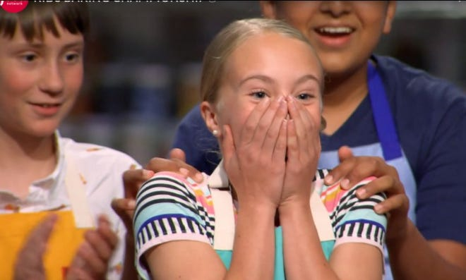 Wilmington Christian Academy student Graysen Pinder was Food Network's newest Kids Baking Champion earlier this year.
