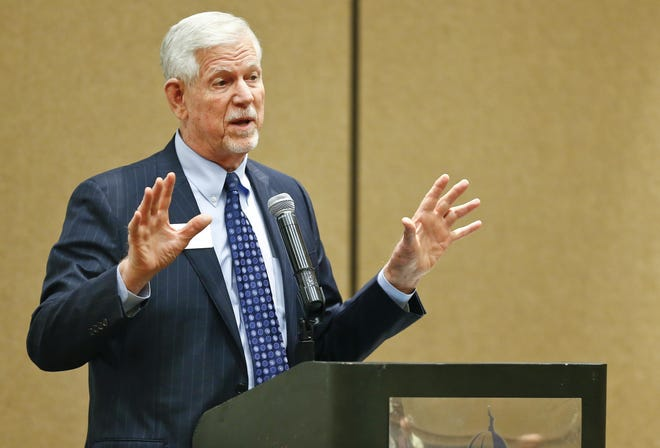 Kansas State University President Richard Myers has allied the university with three other Midwestern universities to recruit U.S. Space Command headquarters to Offutt Air Force Base in Nebraska.