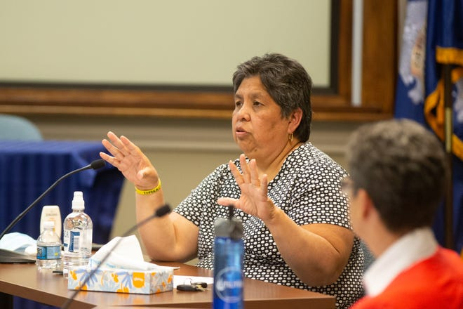 Topeka City Councilwoman Sylvia Ortiz, chairwoman for the Police and Community committee, said she will look into dispatching software to see what information could be provided to officers responding to a call.