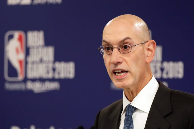 NBA Commissioner Adam Silver is confident in how the league will handle the ongoing pandemic and the continued focus on social issues such as racial injustice.