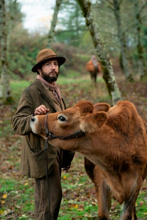 """John Magaro in a scene from the film """"First Cow."""" The New York Film Critics Circle voted Kelly Reichardt's Western fable """"First Cow"""" the best film of 2020."""