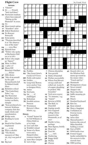 Woo crossword