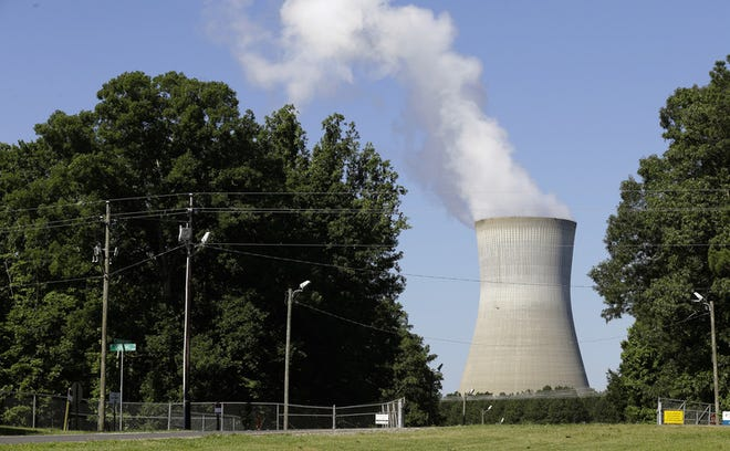 The Shearon Harris Nuclear Plant, operated by Duke Energy, is located in New Hill, North Carolina.