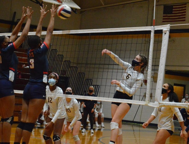 Cape Fear junior Hannah Spexarth (6) has experienced the thrill of winning a conference championship with the Colts. She's helping the program regain that form.