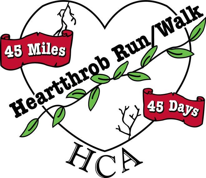 Heartthrob Run/Walk Logo
